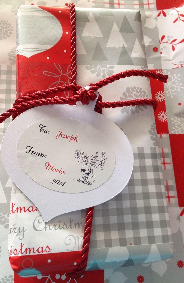 Custom Made Christmas Gift Tags  www.facebook.com/MariasDesignerCreations.