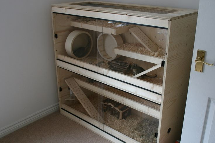The 18 best images about diy with cut plastic sheeting on for Diy guinea pig hutch