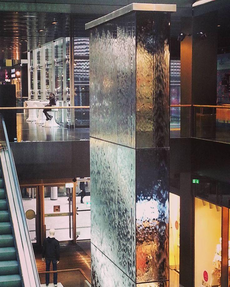 marjonleipzig shared on Instagram: Water wall  ... - #thisisLeipzig