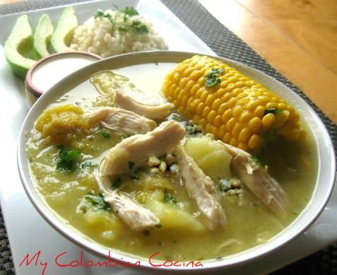 Paleo Colombian Chicken Stew (Ajiaco)