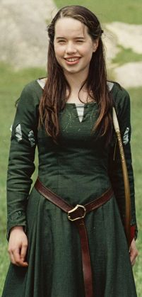 Susan's Archery Dress from Chronicles of Narnia: The Lion, The Witch, and the Wardrobe