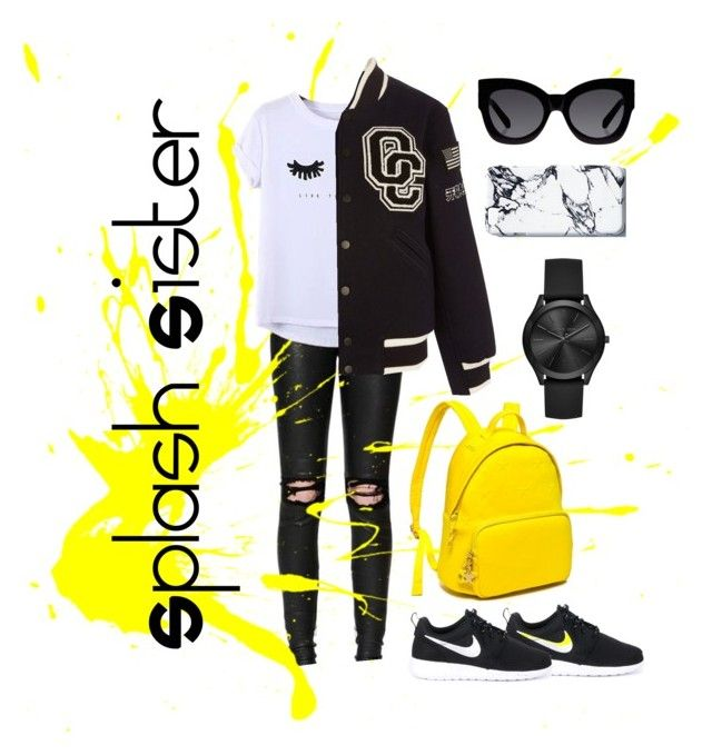 Splash Sister | Weekend Warrior by bosko on Polyvore featuring polyvore, fashion, style, Chicnova Fashion, Opening Ceremony, RtA, NIKE, Tommy Hilfiger, Michael Kors, Karen Walker and clothing