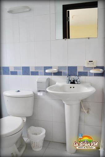 Baño privado habitaciones.