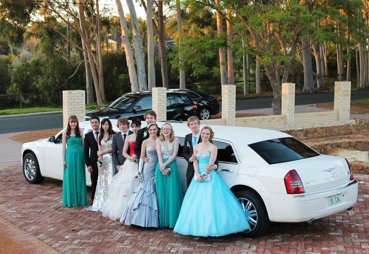 Kalamunda School Ball in the Chrysler 300c Limousine
