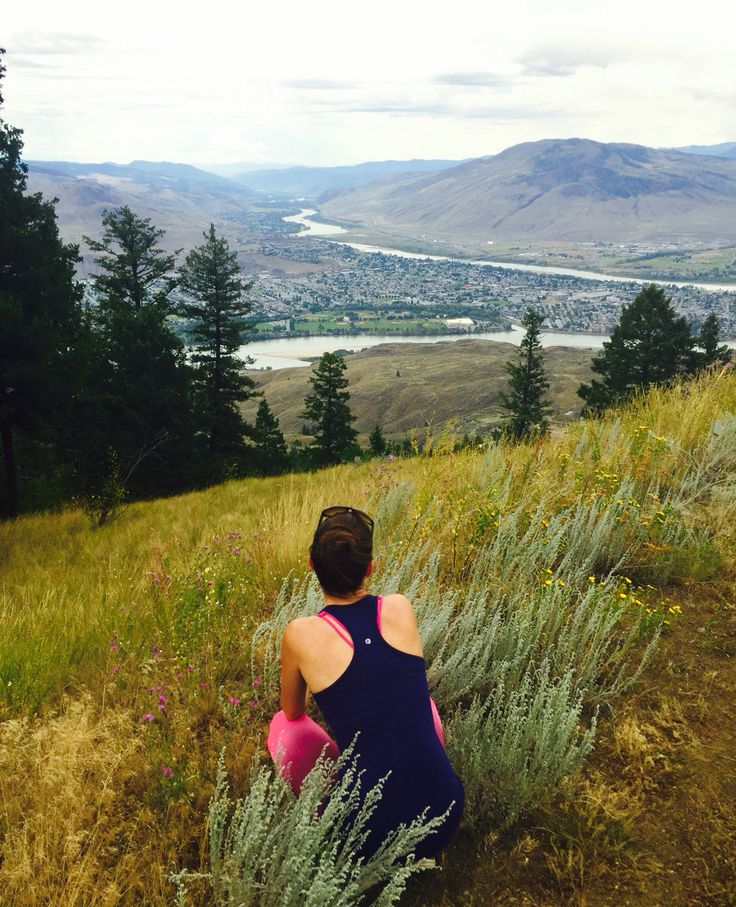 Kamloops BC! I love this place and would gladly go back for the most awesome running trails and mountain views ✨💛✨
