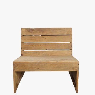 "Lounge Stol ""Woodie"""