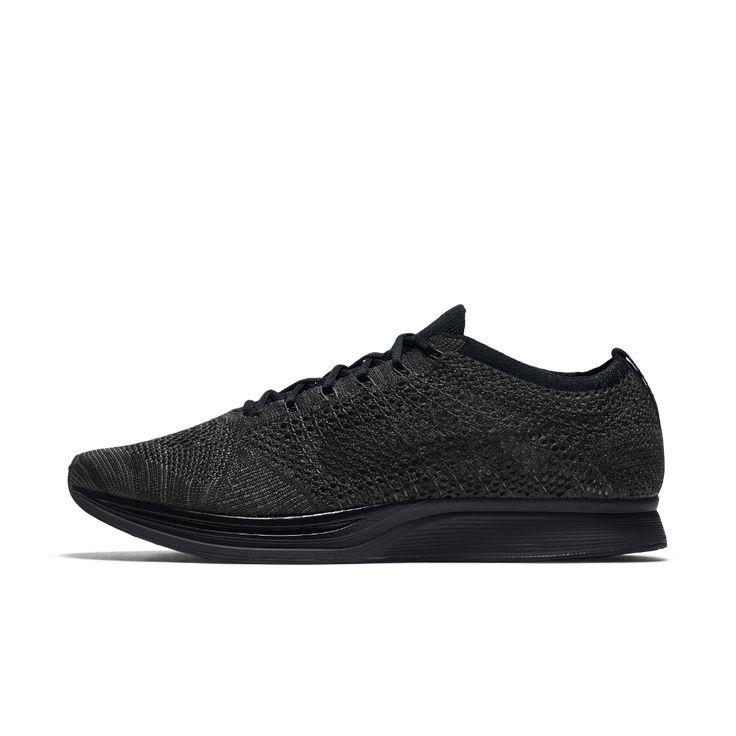 Nike Flyknit Racer Running Shoe Size 12.5 (Black) - Clearance Sale
