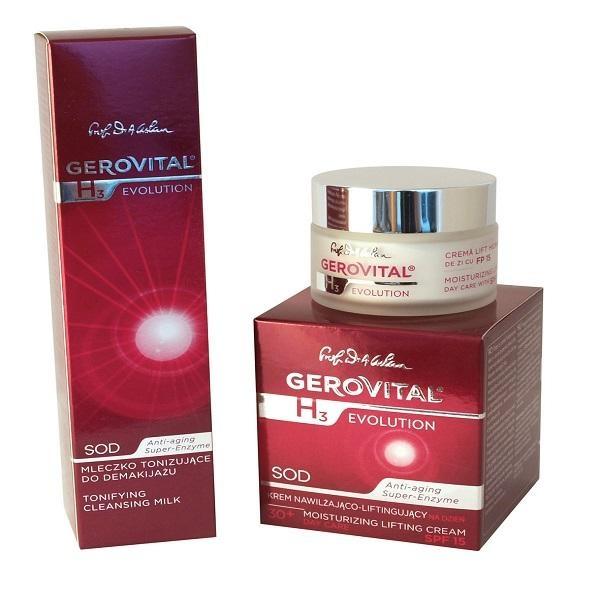 Lapte Demachiant Tonifiant Gerovital GH3 Evolution - http://www.carlisa.ro/256~Creme-de-fata-si-lotiuni/1531-Lapte-Demachiant-Tonifiant-Gerovital-GH3-Evolution.html
