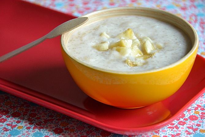 Entremet asiatique à la banane { tapioca & lait de coco } - Les recettes de Juliette