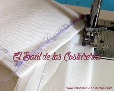 Problemas de costura a máquina - fallos en la costura: el hilo superior muy flojo