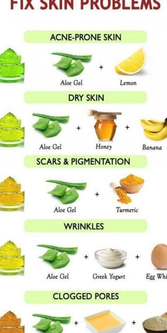 Banana and aloe vera face mask