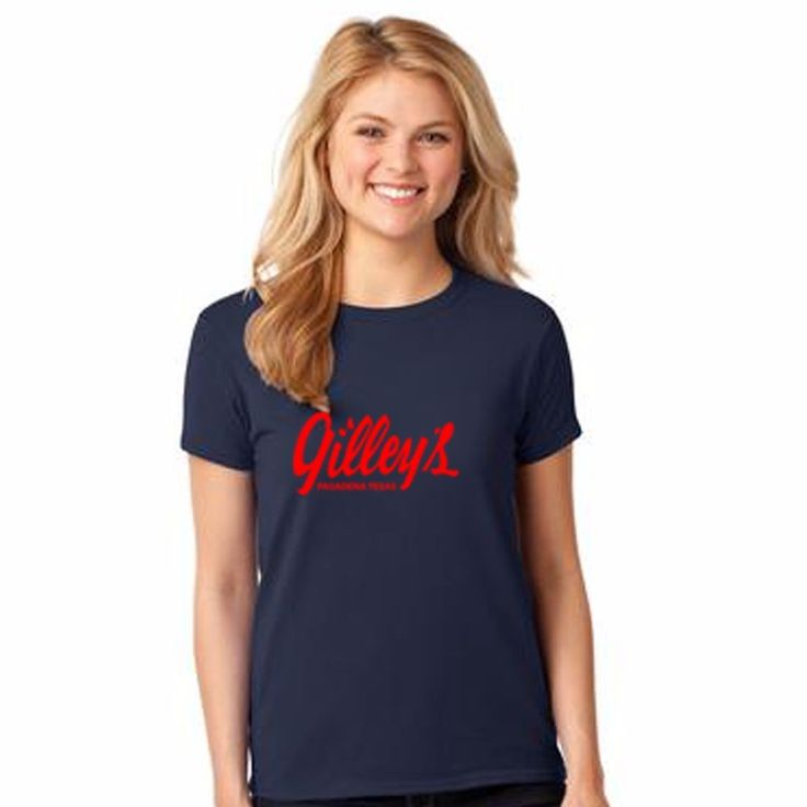 New GILLEY'S T-SHIRT BAR URBAN COWBOY GILLEYS TEXAS WOMEN T-Shirt Tee S-3XL #Gildan #GraphicTee