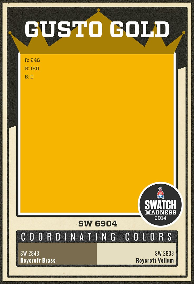 34 best images about paint swatch madness on pinterest for Sherwin williams yellow paint colors