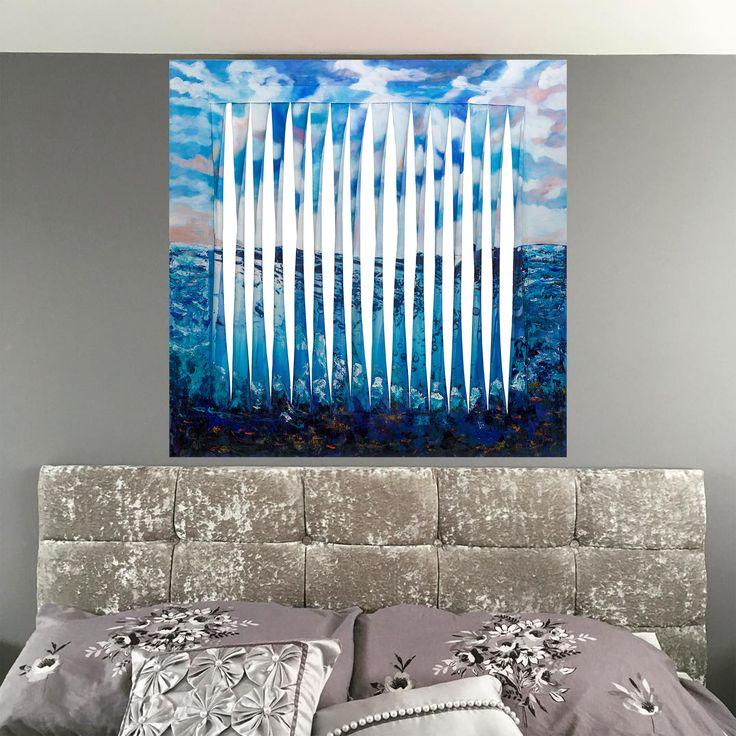#Okyanus (Ocean) by Sedef Zeren Tuval üzerine #Yağlıboya ve #Akrilik / Acrylic and on Oil on Canvas 119cm x 121cm 5.000₺ / 1.400$  #gallerymak #sedefzeren #resim #sanat #ig_sanat #yagliboya #ressam #sanatsal #ocean #abstractart #soyut #evdekorasyon #dekorasyon #icmimari #tasarim #icmimar #oilpainting #acrylicpainting #artgallery #art #contemporaryart #abstractpainting #painting #contemporary #abstractexpressionism #artlovers #artcollector