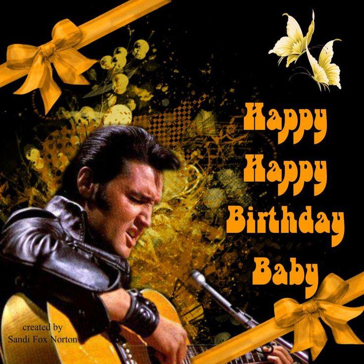 Elvis Presley Singing Happy Birthday