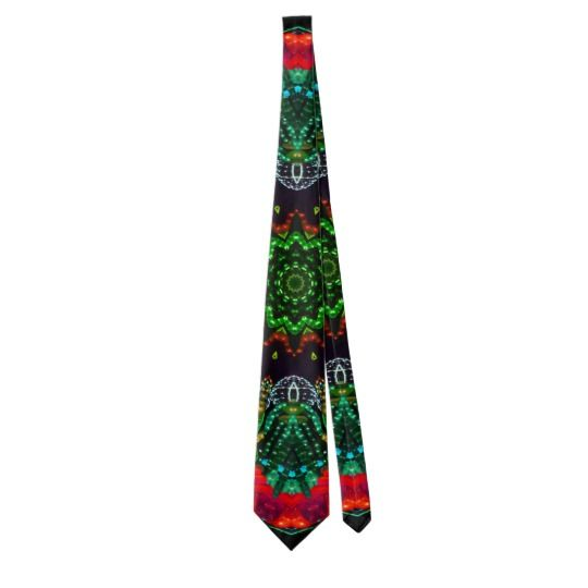 Glowing Abstract Tie by www.zazzle.com/htgraphicdesigner* #zazzle #gift #giftidea #tie #necktie #fathersday #abstract