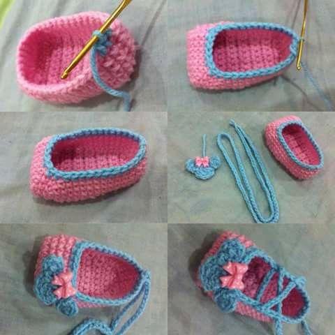 812 besten crochet baby Bilder auf Pinterest | Babyschuhe ...