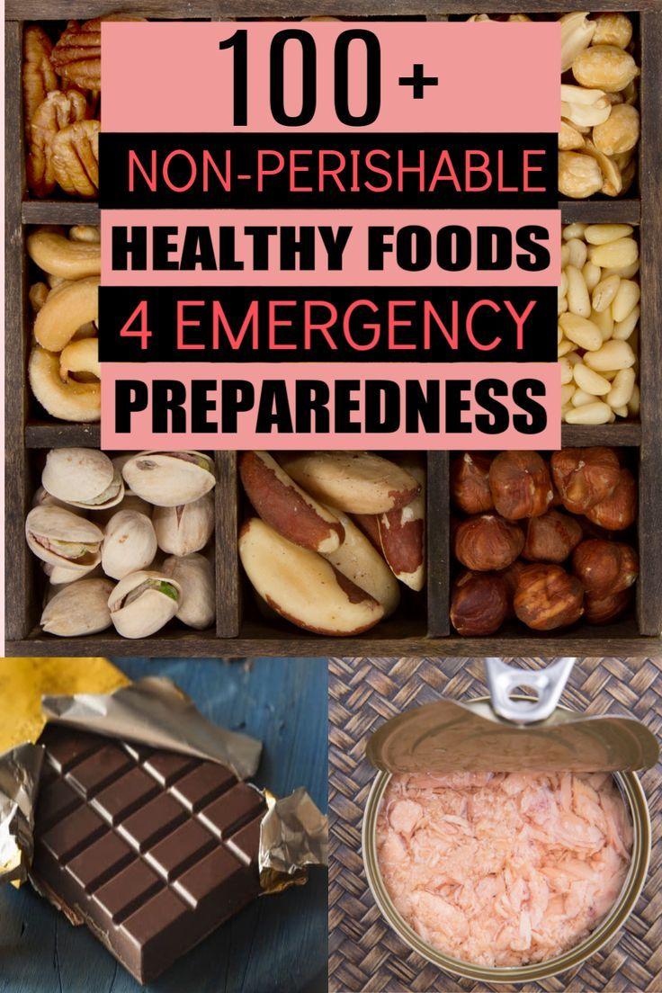 Healthy nonperishable foods list 100 emergency food