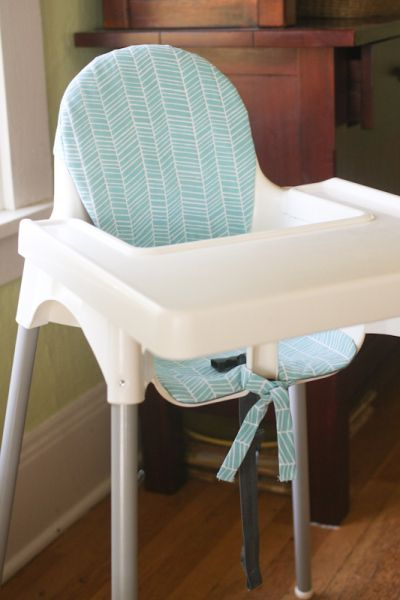 antilop high chair cushion (with link to free pattern), and a fabric giveaway!
