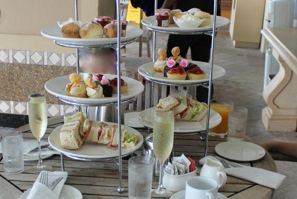 Brisbane Marriott High Tea