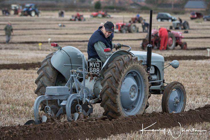 MVO 688 Ferguson TE20 ploughing