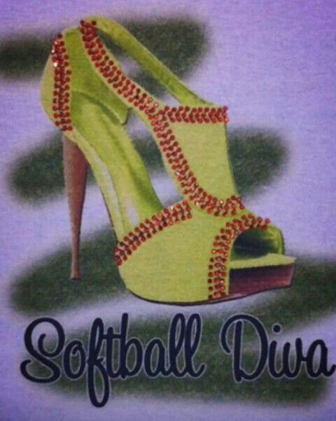 Softball/fastpitch Diva shoes. These aren't sports but I love them and have to do with sports.... Kinda