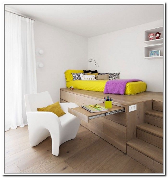High Platform Beds With Storage Google Search O S Room