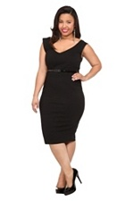Cute - you can never have too many little black dresses: Retro Chic, Style, Size Retro, Plus Size, Black V Neck, Little Black Dresses, Dress 68 50, V Neck Dress, Torrid