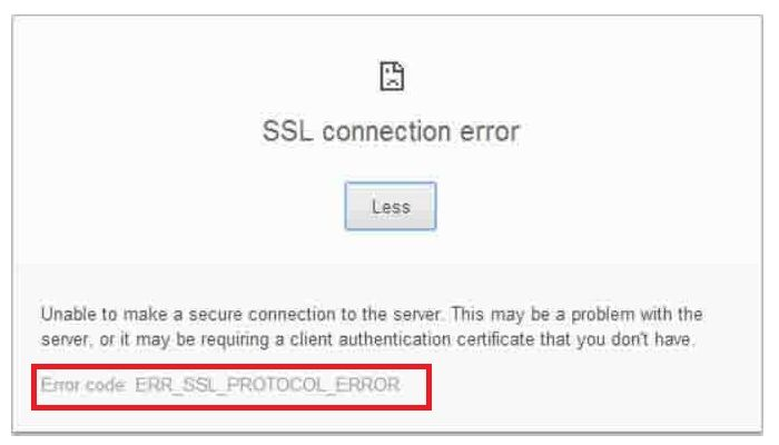 """How to Fix ERR_SSL_PROTOCOL_ERROR""  #chrome #error #solutions #ssl #protocol #fix #howto"