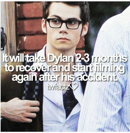 Dylan O´Brien - INFO: (Rumour) Dylan O'Brien flew back to L.A. to have surgery on his injuries. And he will recover there
