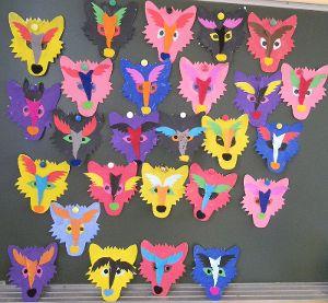 masques loups