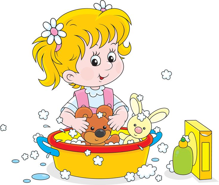 Картинка мыло и девочка