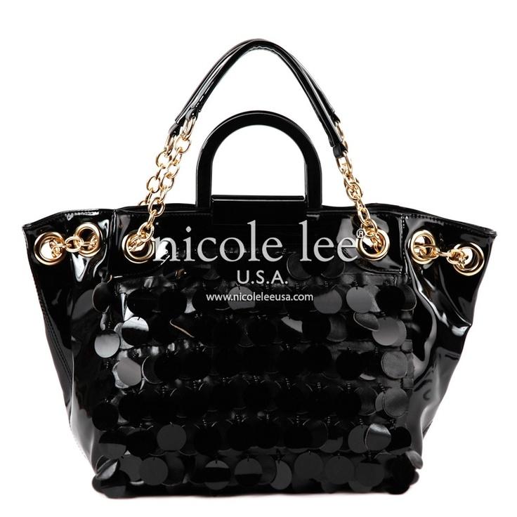 JUBILEE SEQUINS & SCALES NICOLE LEE HANDBAG  www.dressmeupfashion.com