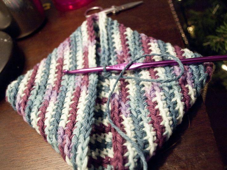 13 Best Images About Crochet Potholderd On Pinterest