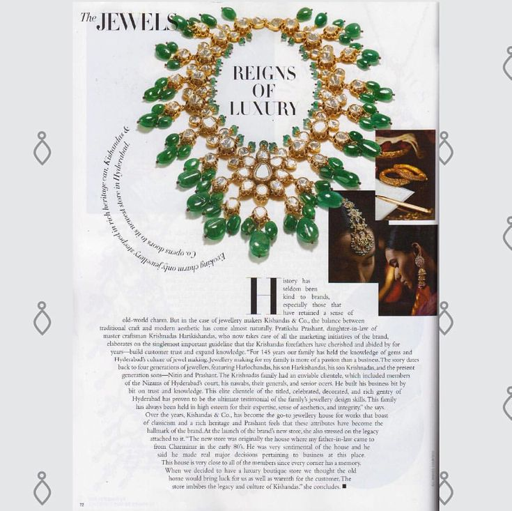 Mean while Kishandas & Co. featured in 'Harper Bazaar's Bride' #kishandasandco #kishandasjewellery #since1870 #heritagehyderabad #magazine #jewelrymaking #jewelrylover #harperbazaarbride