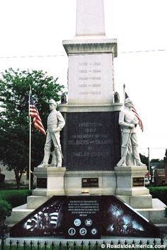 Freedom Square in Shelbyville, Illinois