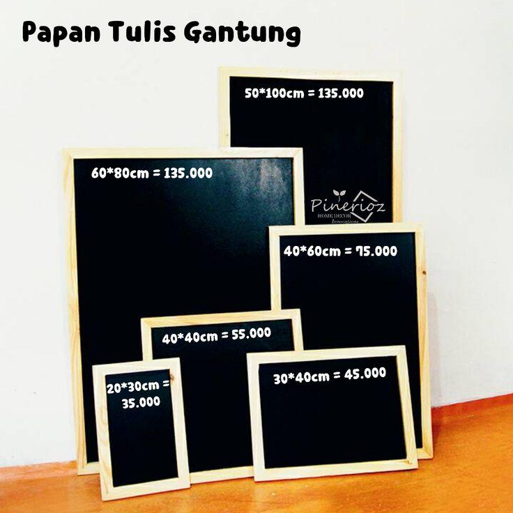 Jual Papan Tulis Kapur 20*30 / Blackboard / Chalkboard - Pinerioz | Tokopedia