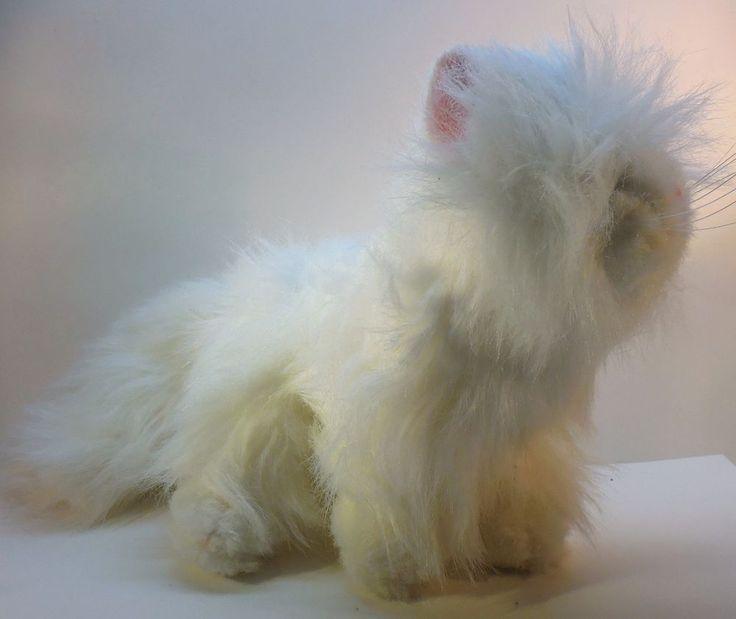 Ganz Webkinz White Persian Cat HM110, Plush stuffed toy animal, kitten NO CODE #GANZWebkinz