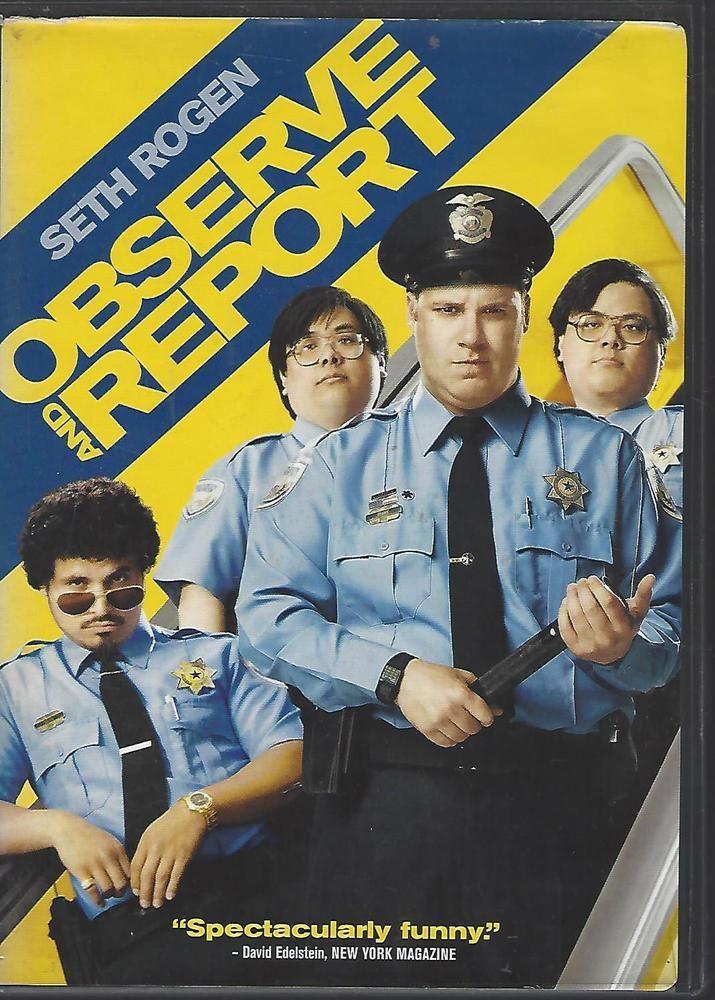 Observe and Report (DVD, 2009) Seth Rogen, Anna Faris, Michael Pena