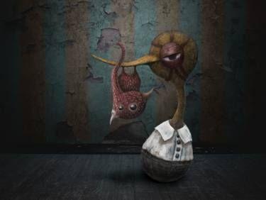 """Saatchi Art Artist Szilárd Juhász; New Media, """"'Duck & Beaky in the room'"""" #art"""