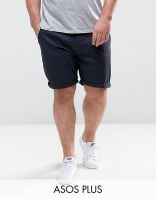 d7d85bf38825 PLUS Slim Chino Shorts In Navy