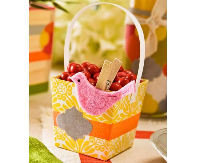 Summer Party Favor Box
