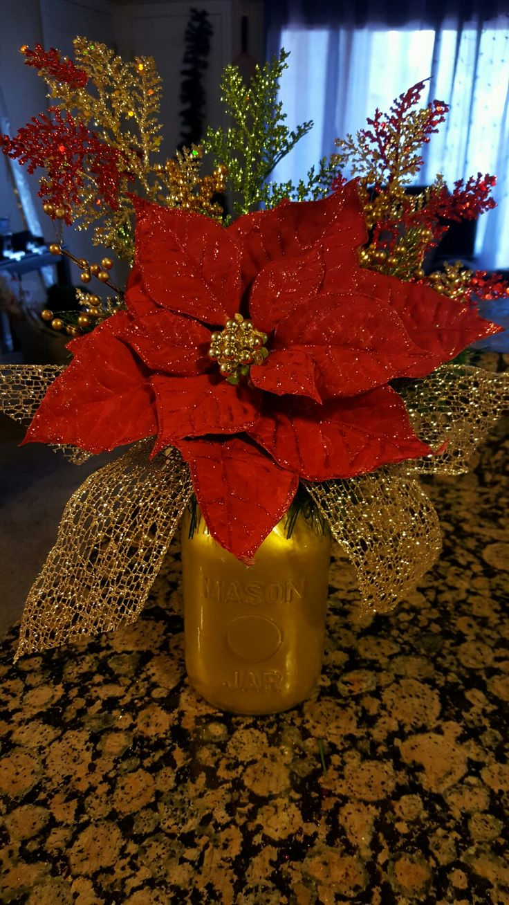 Best poinsettia ideas on pinterest burlap christmas
