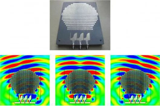 """Scientists make flat surface behave like spherical antenna """"Scientists create..."""
