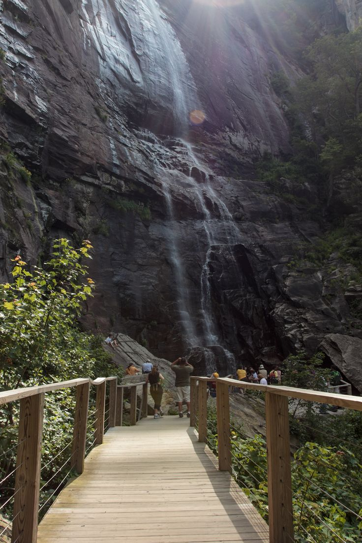 Chimney Rock Is One Of The Most Beautiful Natural Attractions In North Carolina
