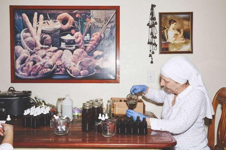 Así viven las monjas que cultivan Marihuana