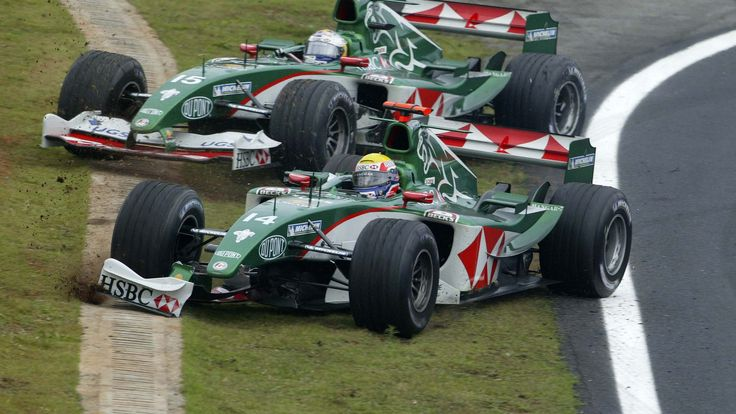 Jaguar's last race - Mark Webber & Christian Klien - Jaguar R5 - Cosworth V10 - Brazilian GP (Interlagos) [1920x1080]