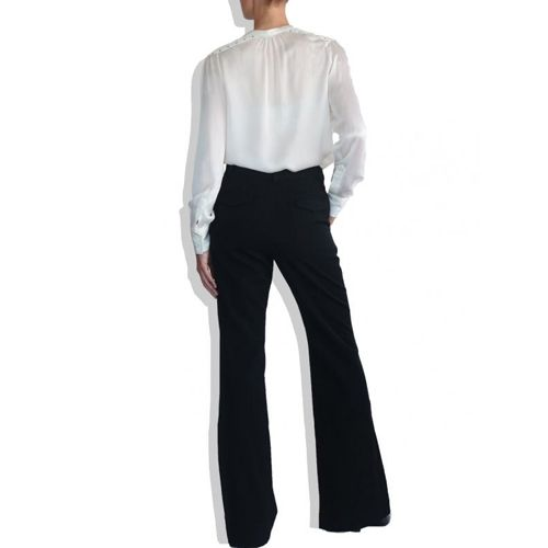 Highwaisted Fringe Pants on TROVEA.COM