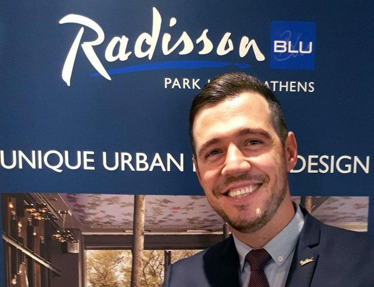 New Faces: Panayiotis Melissiotis, Executive Assistant Manager at Radisson Blu Park Athens