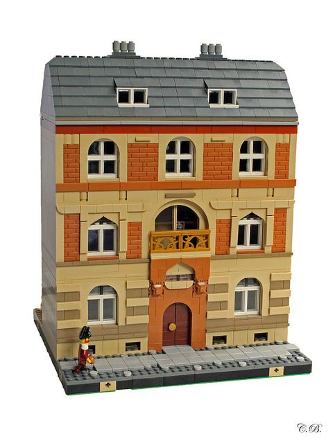 House for BrickMania | ArchBrick | Lego - Minifig Scale | Lego